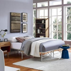 platform bed for heavy person
