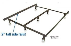 best bed frame for fat person