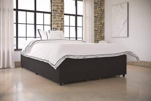 dhp cambridge upholstered bed with storage