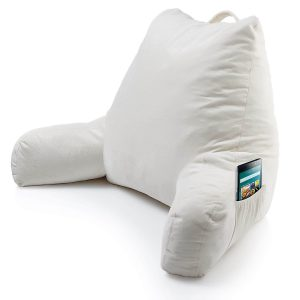bed reading pillow