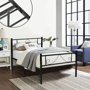 bed frame for twin bed