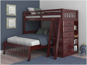 twin over full loft bunk bed
