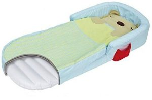 inflatable toddler plane bed