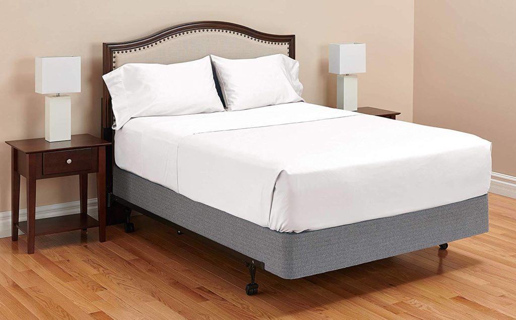 """Luxury Fitted Sheet Full Size Multi Color 1000 Thread Count Drop Up To 6/"""" To 18/"""""""