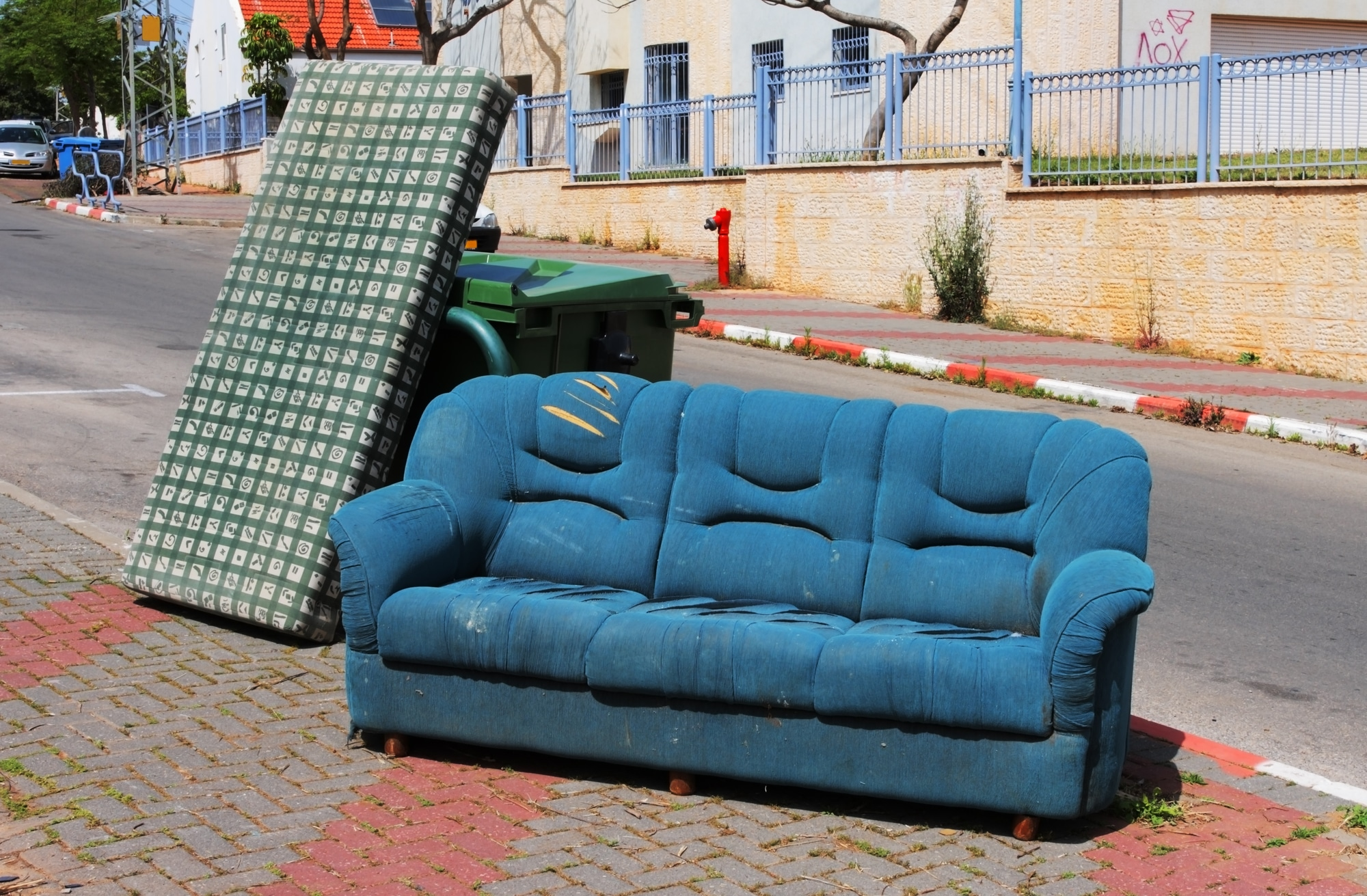 mattress and couch for dumping