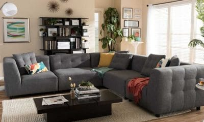 How to Place a Rug under Sectional Sofa